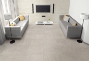Interioir of modern living-room. 3d render
