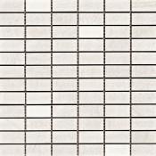 Bianco 1 x 2 Mosaic