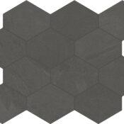 pencil grey hex mosaic