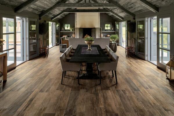 ashley scott - barnwood_brown-Living Room